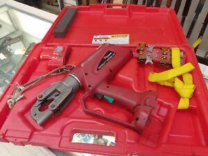 Burndy PAT600LI Hydraulic battery operated 6 ton crimping tool no charger