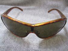 Prada Brown Wrap Sunglasses SPR 16G 2AU-2P1 120 EUC