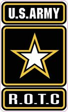 US ARMY ROTC VINYL DECAL STICKER DECAL GO ARMY