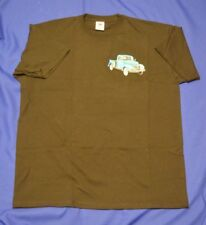 Classic 1940 PICK-UP Fruit of The Loom Heavy T/SHIRT ricamate nel Regno Unito