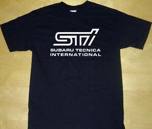 STI subaru tecnica international car tshirt Funny t shirt tees car t-shirt