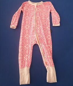 Bonds Baby Girl Marakesh Madness Pink Zip Wondersuit Size 1 rare