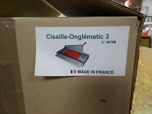 NEW Onglematic 3 Guillotine Tab Cutter File Folders Index Dividers Straight Cut
