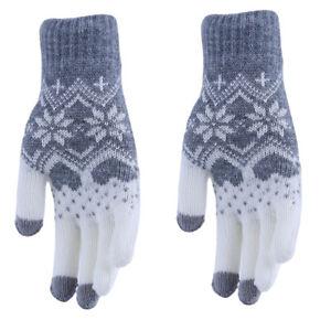 Full Finger Warm Thick Thermal Winter Gloves For Men Women YO