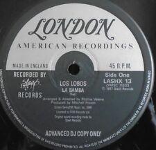 """LOS LOBOS ~ La Bamba ~ 12"""" Single DJ COPY"""