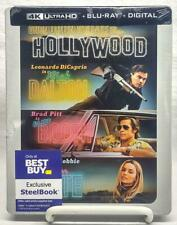Once Upon A Time In Hollywood (4K Ultra HD Blu-ray, 2019) Steelbook New & Sealed