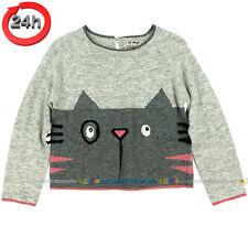 NEXT Pullover Sweatshirt für Mädchen KÄTZCHEN 2-3 Jahre 98cm 15a