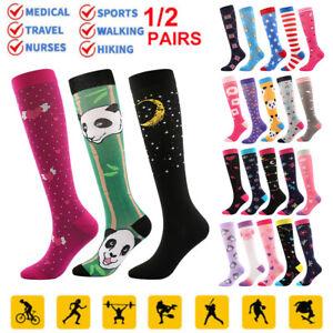 Copper Medical Stocking Compression Socks Travel Running Anti Fatigue Unisex