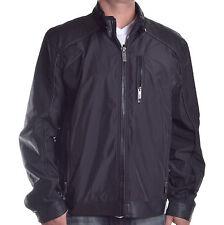 Guess Mens $148 Stuntman Full Zip Black Long Sleeve Jacket Size XL