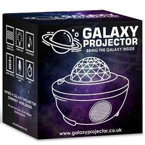 USB Galaxy Projector Light Star LED Night Lamp Sky Bluetooth+Remote New