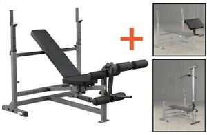 Body-Solid GDIB46LP4 Powercenter Combo Bench Package (New)