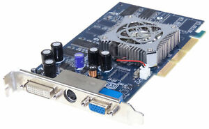 NVIDIA GEFORCE FX5600 GRAPHICS CARD AGP 128MB DDR
