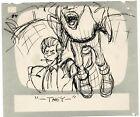 Hey Good Lookin Ralph Bakshi 1973-82 animation Hand-Drawn Storyboard 84