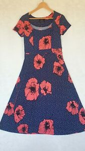 SIZE-L/12, Mazi Gorgeous Jersey Dress Made in Melbourne.
