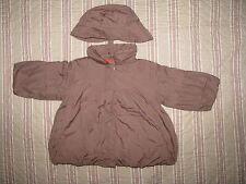 Blouson manteau MARESE a pois rouge 23 mois Fille