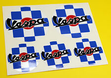 VESPA SCOOTER style Union Jack FLAG ROUNDELS x 5 stickers decal set Flag Piaggio