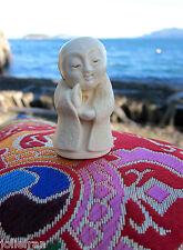 DELIGHTFUL JIZO STATUE JAPANESE ZEN MONK BUDDHA BOSATSU BODHISATTVA MADE IN USA
