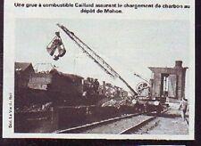 1980  --  GRUE AU DEPOT DE CHARBON DE MOHON  P601
