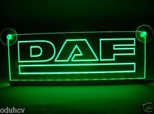12V Green LED Cabin Interior Light Plate for DAF Truck Neon Illuminating Sign
