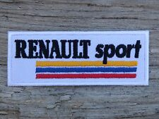 A035 ECUSSON PATCH THERMOCOLLANT aufnaher toppa RENAULT SPORT automobile course