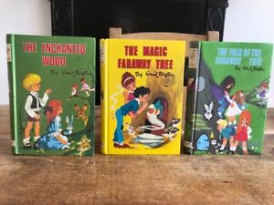 Enid Blyton ENCHANTED WOOD, FARAWAY TREE & FOLK Vintage Hbks Dean & Son