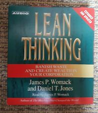 Lean Thinking: Banish Waste and Create Wealth in Your Corporation Audio NEW