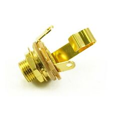 """Switchcraft 1/4"""" Jack Socket Gold Plated"""