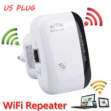 300Mbps Wireless-N Range Extender WiFi Repeater Signal Booster Network US plug