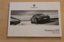 73620) Porsche Panamera GTS - Modell in Daten - Prospekt 11/2011