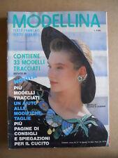 MODELLINA n°74 1988 con cartamodelli  [C53]