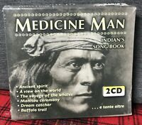 Medicine Man Indians'S Song Book 2 CD Musica Chill Ambiente Indiani Pellerossa N