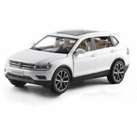 1:32 All New Tiguan L SUV Model Car Diecast Toy Vehicle Pull Back White Sound