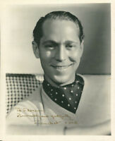 Franchot Tone (Mutiny on the Bounty) (Vintage, Inscribed) signed photo COA