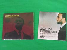 John Legend 2008 Legend Network Cd New Sealed Plus Live at the Tin Angel