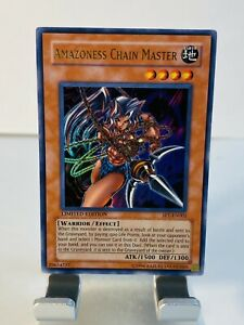 Yu-Gi-Oh TCG - Amazoness Chain Master - SP1-EN002 - Limited Edition