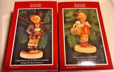 "Vintage Schmid & Berta Hummel Ornament or Figurine ""Alpine Boy""  & ""sweetheart"""