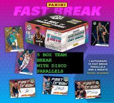 PORTLAND TRAIL BLAZERS 2019-20 PANINI MOSAIC FAST BREAK 5 BOX BREAK