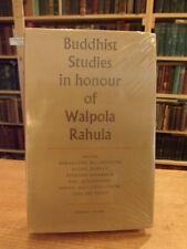 Buddhist Studies in Honour of Walpola Rahula, 1980 First Edition