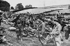 WW2 - Photo - La 2ème DB du Gal Leclerc dans l'attente de son engagement