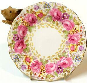 Royal Albert Serena English Fine Bone China Side Plate 16cm -  Pink Roses
