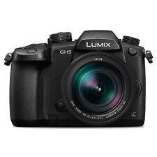 Panasonic Lumix DMC-GH5 Mirrorless cámara micro cuatro tercios con lente de 12-60mm