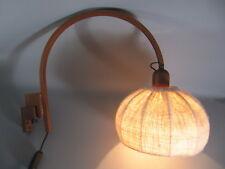 60er J. Domus Teak Lampada Muro Lampada ARCO WALL LAMP TEAK 60s