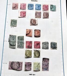 JAMAIKA Gute Sammlung Freimarken reichhaltig Viele gesuchte Ausgaben Hoher Wert