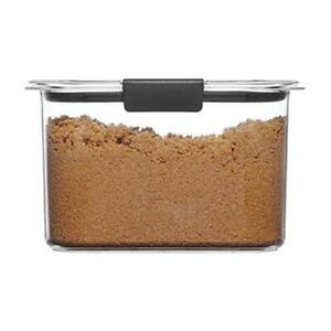 Rubbermaid Container, BPA-Free Plastic, Brilliance Pantry Airtight Food Storage,