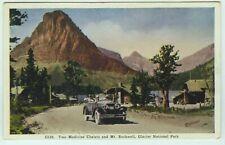 GLACIER NATIONAL PARK Two Medicine Chalets & Mt. Rockwell