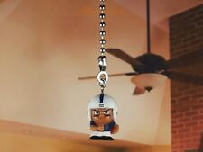TeenyMates NFL Football Indianapolis Colts Ceiling Fan Pull Light Lamp Chain 9D2