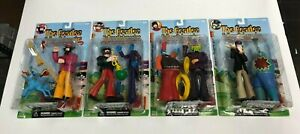 The Beatles Yellow Submarine Sgt Peppers action figure set with McCartney Lennon