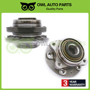 2 New Wheel Hub Bearing Assembly for 2003-2007 Volvo XC90 Front Pair Warranty