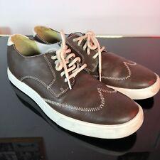 Cole haan Oxford shoes mens size ten Excellent Crispy Brown Leather Lunar Sole