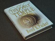 THE HOLY TEMPLE BY BOYD K. PACKER  (white boards)       hardcover